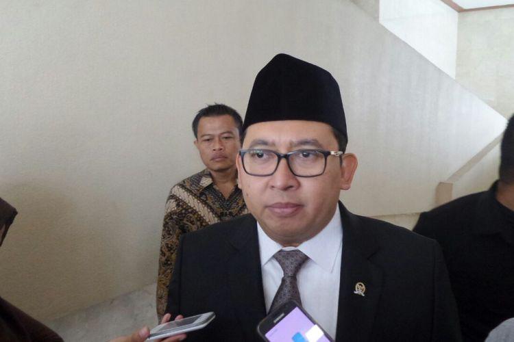 Wakil Ketua DPR RI Fadli Zon di Kompleks Parlemen, Senayan, Jakarta, Kamis (6/7/2017).