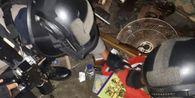 Gerebek Rumah Warga, Polisi Sita Senjata hingga Alat Hisap Sabu