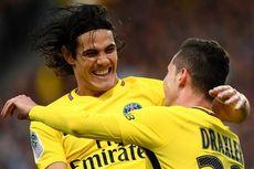 Hasil Liga Perancis, Edinson Cavani Ikuti Jejak Zlatan Ibrahimovic