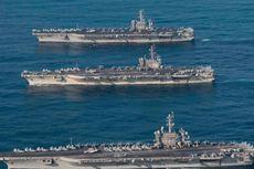 Pyongyang: Tiga Kapal Induk AS Membuat Situasi Semakin Buruk