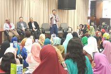 Jelang Kedatangan Jokowi, Nusron Temui Buruh Migran di Hongkong