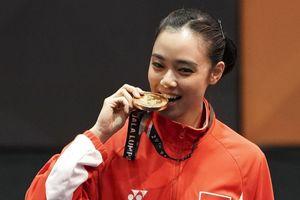 Jokowi: Ini Lindswell Kwok, Ratu Wushu Asia Tenggara...