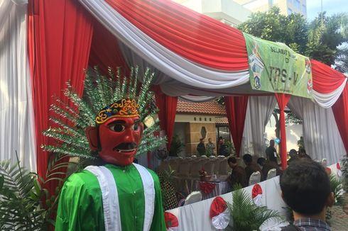 Dari Ondel-Ondel Hingga Band Akustik, Begini Suasana TPS Tempat Jokowi