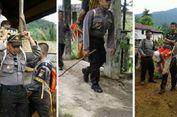 Aksi Kapolsek Gendong Warga Sakit Viral, Kapolda dan Kapolri Apresiasi