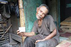 Kisah Abah Tarsa Hidup Sebatang Kara di Gubuk dengan Leher Bengkok