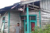 Belasan Tahun Hidup di Rumah Nyaris Rubuh, Elegi Guru di Pelosok Kukar