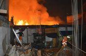 Kebakaran di Pasar Kebayoran Lama Diduga karena Korsleting Listrik