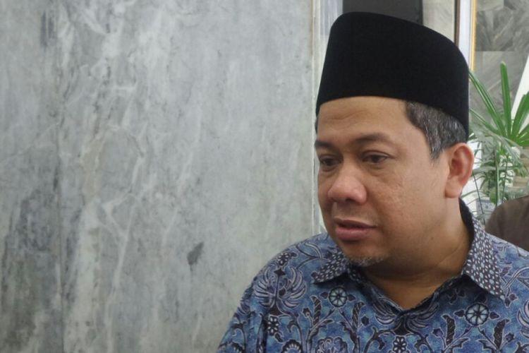 Wakil Ketua DPR RI Fahri Hamzah di Kompleks Parlemen, Senayan, Jakarta, Rabu (4/10/2017)