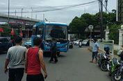 Pengemudi Metromini Hadang Bus Transjakarta di Jalan Fatmawati