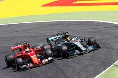 Juara di Spanyol, Hamilton Tetap Kalah Poin dengan Vettel