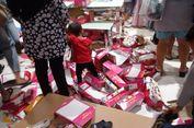 Pengunjung Membludak, Matahari Pasaraya Blok M Berantakan