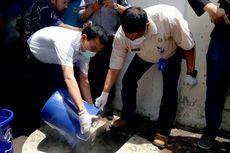 Disiram Air Mendidih dan Dibuang ke Got, Sabu Rp 4,5 Miliar Dimusnahkan Petugas