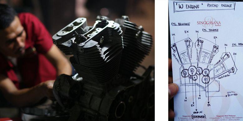 W Engine Karya Psyco Engine