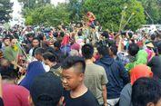 Keraton Yogyakarta Gelar Tradisi Grebeg Syawal, 7 Gunungan Diserbu