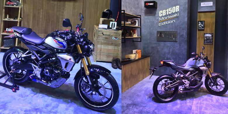 Honda CB150R ExMotion Moriwaki dan Cafe Racer