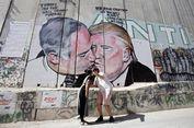 Ada Trump Berciuman dengan Netanyahu di Tembok Tepi Barat