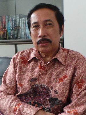 Sosiolog Musni Umar yang juga Rektor Universitas Ibnu Chaldun Jakarta.