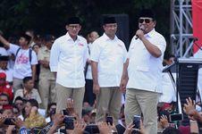 Prabowo: Kami Bersyukur atas Kemenangan, Walaupun Banyak Cobaan