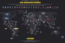 Toyota Jadi yang Terlaris di 49 Negara