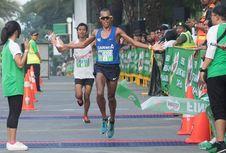 Kennedy Lilan, Agus Prayogo Juara MILO Jakarta International 10K 2017