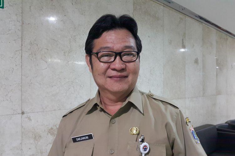 Kepala Dinas Kelautan, Pertanian, dan Ketahanan Pangan (DKPKP) DKI Jakarta, Darjamuni, di Balai Kota DKI Jakarta, Jalan Medan Merdeka Selatan, Selasa (26/9/2017).