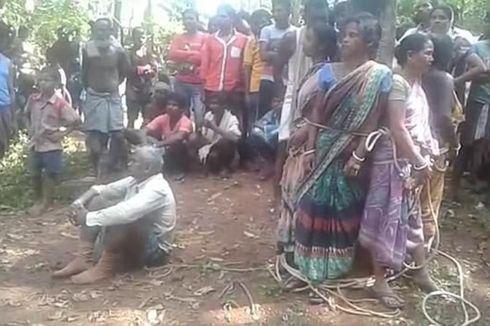 Dituduh Penyihir, 5 Perempuan India Diikat di Pohon lalu Dipukuli