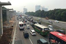 Kamis Siang, Tol Jagorawi dan Jakarta-Cikampek Mulai Padat