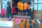 Membegal, Belasan Anggota Geng Motor di Bandung Ditangkap