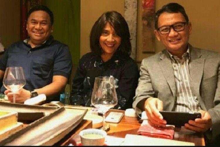 Gaya rambut Menteri Kelautan dan perikanan Susi Pudjiastuti yang dipuji netizen