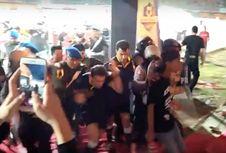 Ricuh Seusai Laga Madura United Vs Borneo FC, Wasit Jadi Sasaran