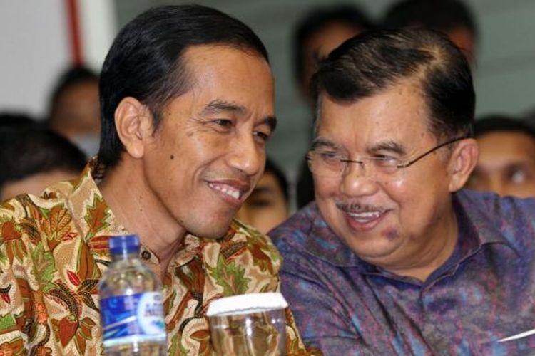 Presiden Jokowi dan Wapres Jusuf Kalla  (Tribunnews.com/ Dany Permana)