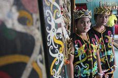 Tarian Pebekatawai, Simbol Persaudaraan Suku Dayak Kenyah