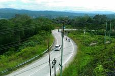 Jalan Lintas Sumbar-Riau Rawan Longsor