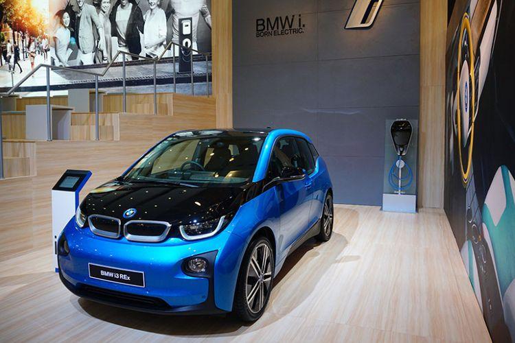 BMW i3 di GIIAS 2017