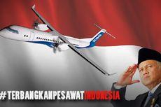Ikut Patungan, Foto Donatur Bakal Terpampang di Badan Pesawat R80 Habibie