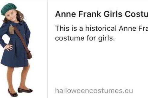 Jual Kostum Anne Frank, Situs Penyedia Kostum Halloween Dikecam