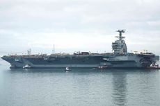 USS Gerald R Ford, Kapal Induk Super Berharga Rp 173 Triliun
