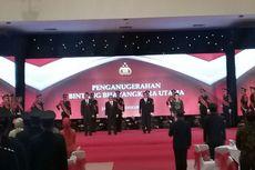 Tujuh Menteri Terima Tanda Kehormatan Bintang Bhayangkara Utama