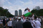 Aksi Bela Palestina Usai, Lalu Lintas di Sekitar Monas Padat