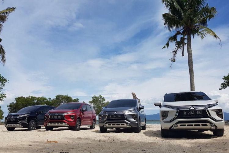 Konsumsi BBM Xpander, perjalanan Jakarta-Bandar Lampung.