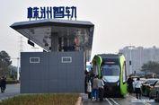 Pertama di Dunia, Kereta Tanpa Rel dan Awak Segera Beroperasi di China