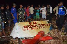 Kapal yang Hanyut Diduga Karam di Tual, 17 ABK Belum Ditemukan