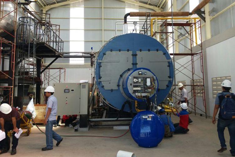 Gas Bumi PGN Tingkatkan Efisiensi Industri Kertas