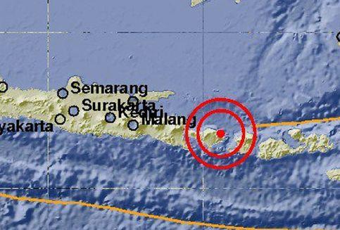 5 Kali Gempa Guncang Bali, BMKG Imbau Warga Tidak Panik