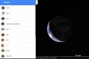 Bisa Menjelajah Tata Surya Lewat Google Maps