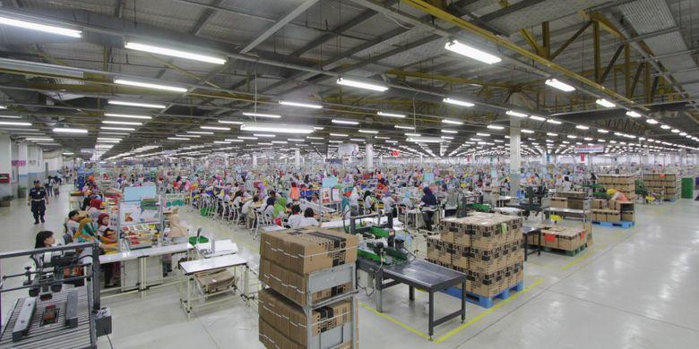Pabrik Mattel Indonesia di Cikarang | Foto: Kahfi Dirga Cahya/Kompas