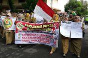 Digaji Rp 150.000, Ratusan Guru Honorer Demo Tuntut Upah yang Layak