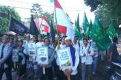 Usai Salat Subuh di Istiqlal, Peserta Aksi Bela Palestina Bergerak ke Monas