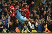 Vincent Kompany Tak Terima dengan Hasil Derbi Manchester