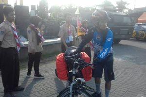 Cerita Raharjo Mudik dengan Kayuh Sepeda dari Bandung ke Madiun